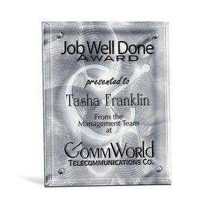 "Fascination Stainless Plaque (8""x10"")"