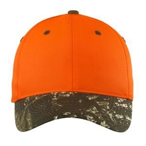 Port Authority® Enhanced Visibility Cap w/ Camo Brim