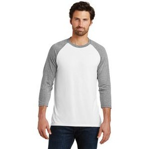 District� Men's Perfect Tri� 3/4-Sleeve Raglan Shirt