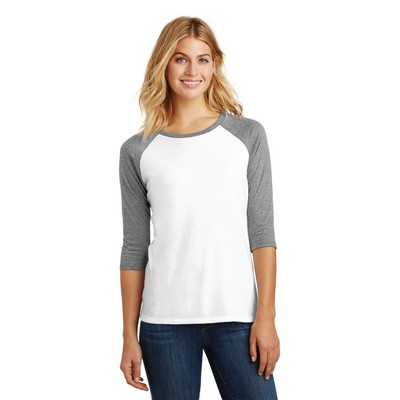 District® Women's Perfect Tri® 3/4-Sleeve Raglan Shirt