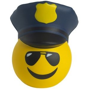 Police Emoji Squeezies® Stress Reliever