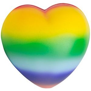 Squeezies® Stress Reliever Rainbow Sweet Heart