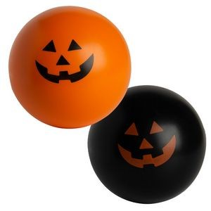 Jack-o-latern Squeezies® Stress Reliever Ball