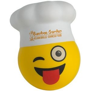 Chef Emoji Squeezies® Stress Reliever