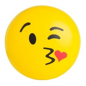 Emoji Kiss Kiss Squeezies® Stress Reliever