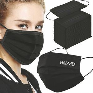 Special Pricing !... Blank Or Printed Disposable Masks In Popular Colors -3 Ply Health Face Mask