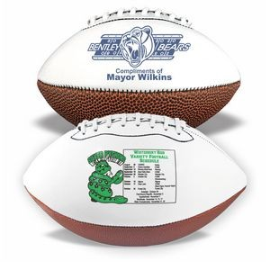 "8"" Mini Synthetic Leather Signature Football"