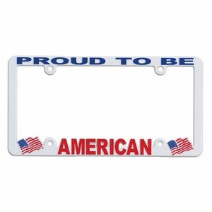 Full View Hi-Impact 3D License Plate Frame