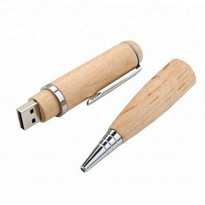 Wooden Ballpoint Pen USB Flash Drive