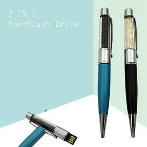 Crystal Pen Shape USB Flash Driver