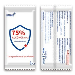 75% Alcohol Disinfectant Antibacterial Wipes