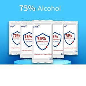 75% Alcohol Sanitizer Wipe
