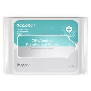 75% Alcohol Disinfectant Wipes 10PCS