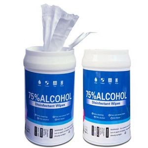 75% Alcohol disinfectant Wipes For 50pcs Per Box