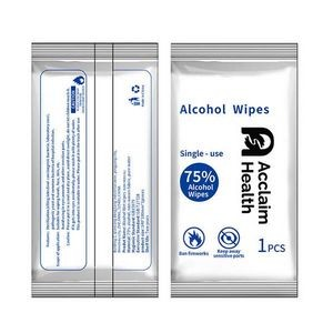 Individual Pack 75% Alcohol Hand Wipes