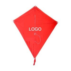 Customized Logo Promotional Polyester Diamond Kite