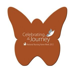 "Butterfly Paper Window Sign (Approximately 8""x8"")"