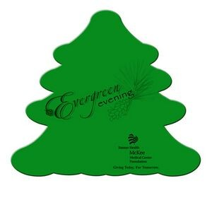"Evergreen Paper Window Sign (Approximately 8""x8"")"