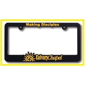New York High View Raised Copy Plastic License Plate Frame