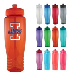 28 Oz Plastic Fitness Water Bike Bottle