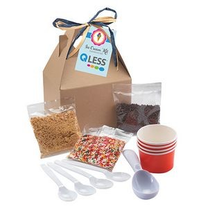 Do-It-Yourself Ice Cream Kit Gable Box