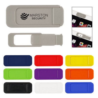 Security Webcam Cover With Backer Card