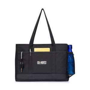 Mobile Office Computer Tote Black