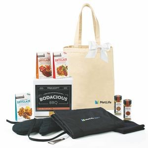 Bodacious BBQ Gift Set - Natural-Black