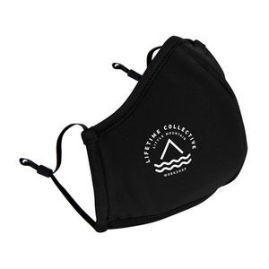 Reusable Athleisure Face Mask - Black