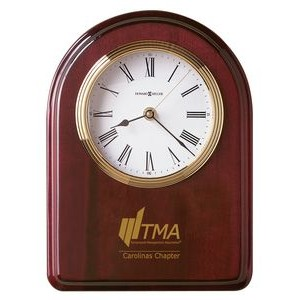 "Howard Miller Honor Time IV 11 1/2"" Arch Award Clock Plaque"