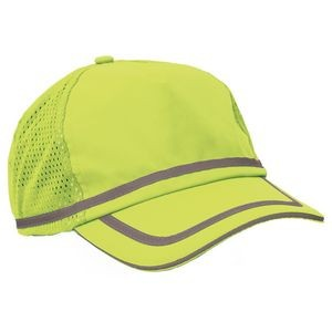 S108 Aware Wear® ANSI Hi-Viz Lime Ball Cap