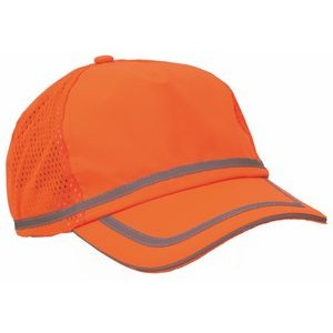 S108 Aware Wear® ANSI Hi-Viz Orange Ball Cap