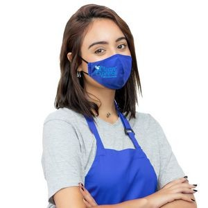 Ionshield™ 2-Ply Deluxe Cooling Face Mask With Pocket For Filter & Ear Loop Adjustments