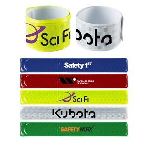 Reflective Slap Wristband (Direct Import - 8-10 Weeks Ocean)