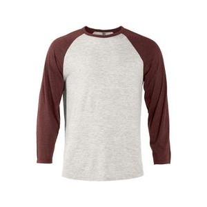 Platinum Men's Tri-Blend � Sleeve Raglan Tee