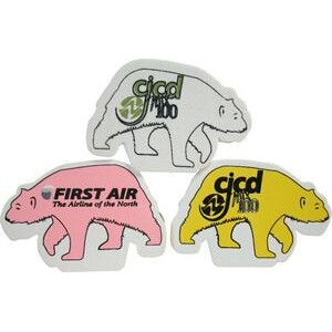 Foam Antenna Topper - Polar Bear