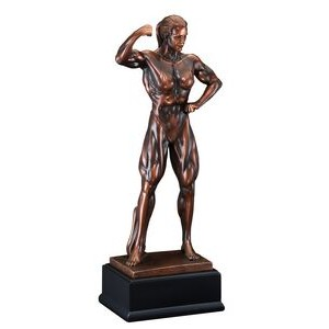 "Body Builder - Female 19"" Tall"