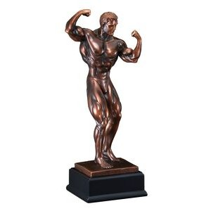 "Body Builder - Male 15-1/2"" Tall"