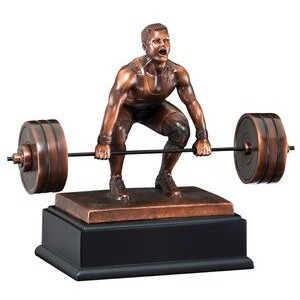 "Weight Lifter - Male 10"" Tall"
