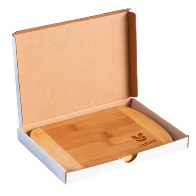 "Totally Bamboo 8"" 2-Tone Cutting Bar Board"