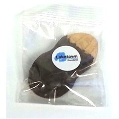 1 Piece Dark Chocolate Dipped Peanut Butter Cookie