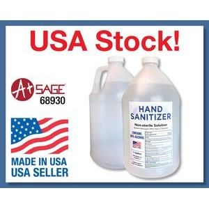 In Stock And Ready To Ship 1 Gallon Liquid Hand Sanitizer 80%