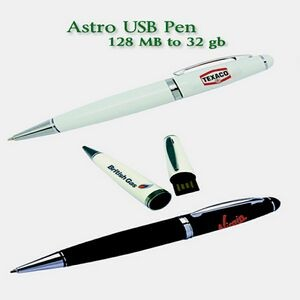 Astro USB Pen Flash Drive - 128 MB Memory