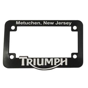 license plate frames for Motorcycles in raised 3D logo