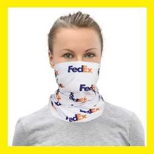 Full Color Dye Sublimated Multifunctional Washable Neck Gaiter Face Mask Shield Headwear